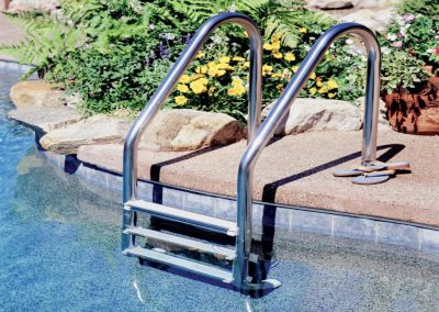 Variety For Your Swimming Pool Handrails Swimming Pool Design throughout Inground Swimming Pool Handrails